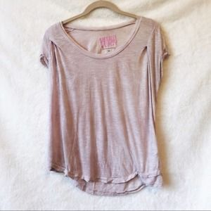 Juicy Couture Pink Light Fluttery T-Shirt